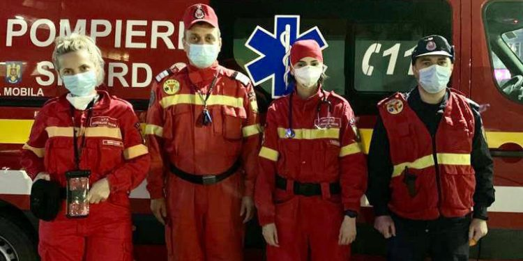 Echipajul SMURD a fost felicitat pentru intervenție