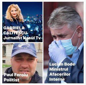 Jurnalista Gabriela CALIȚESCU intră în greva foamei alături de Paul Feroiu
